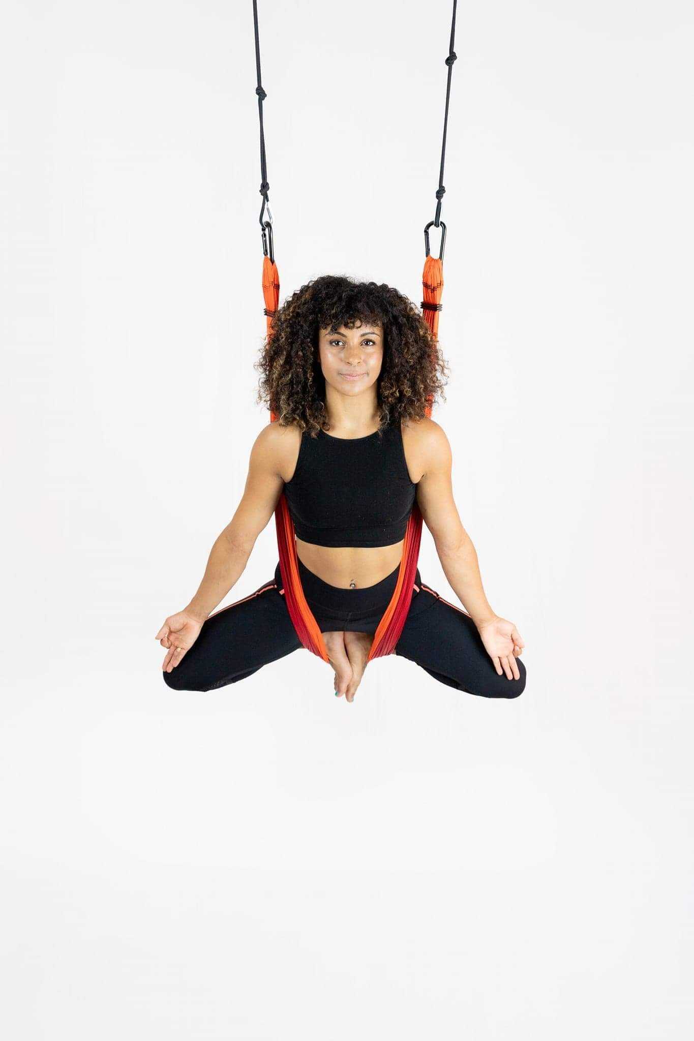 Join our Aerial Yoga class