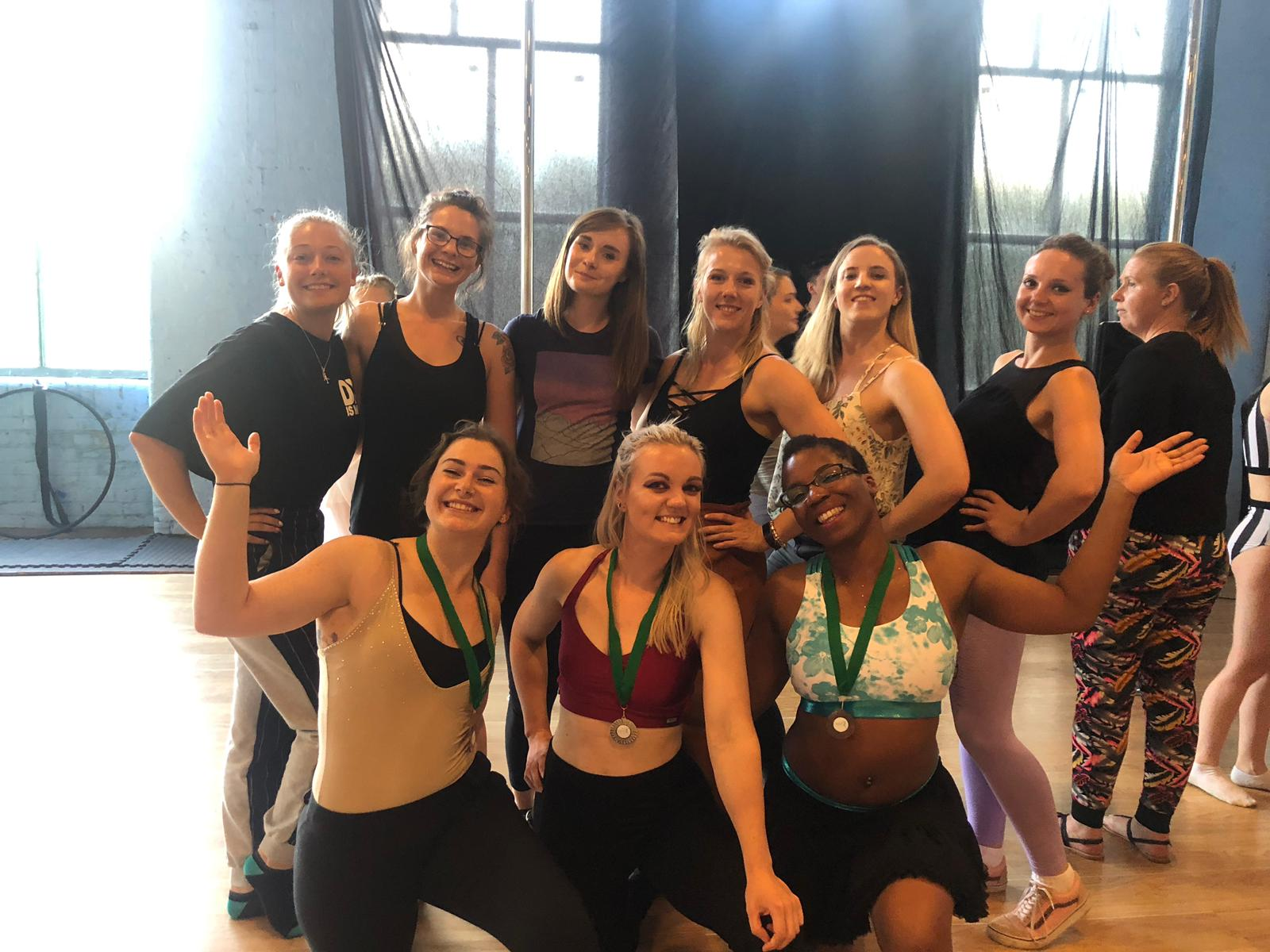 LAA students compete and smash their first aerial competition
